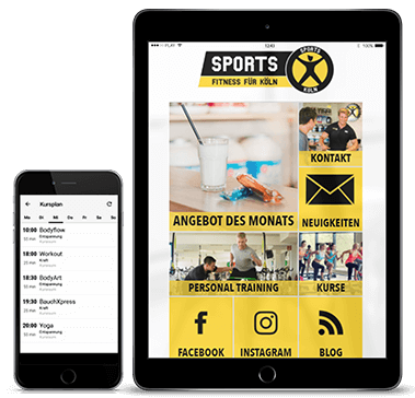Sports Fitness für Köln App